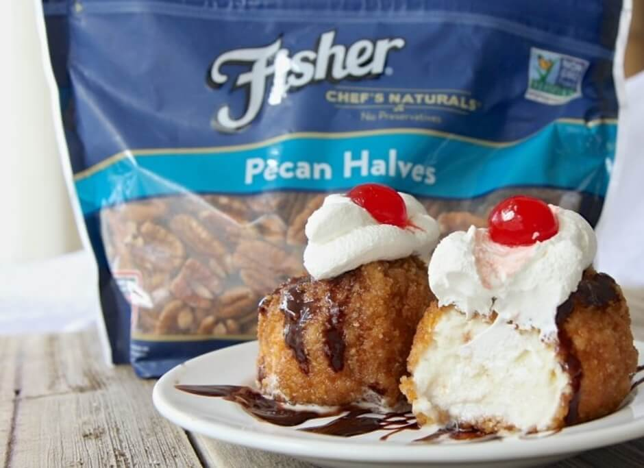Fisher nuts how to make easy fried ice cream ingredients 15 qt vanilla ice cream ccuart Choice Image