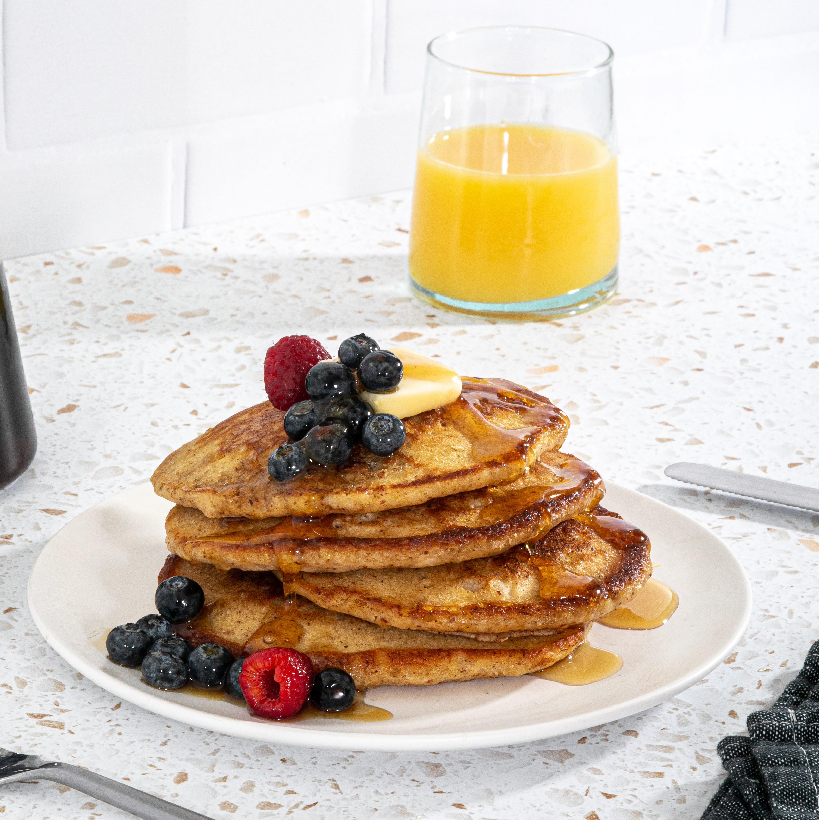 Coconut Buttermilk Pancakes