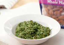 Pesto Whole Natural Almonds