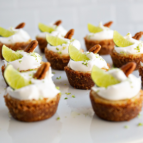 Key Lime Pie Mini Tarts