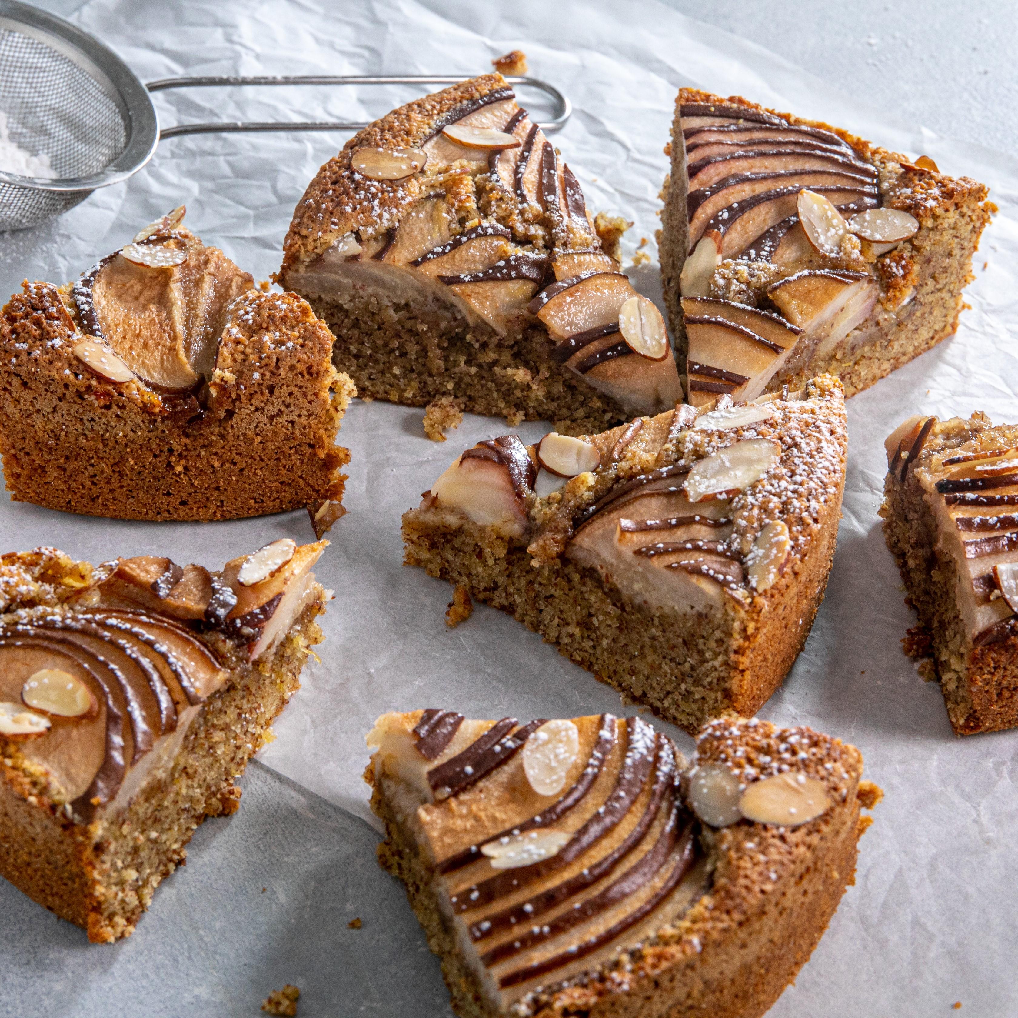 Pear Frangipane Cake