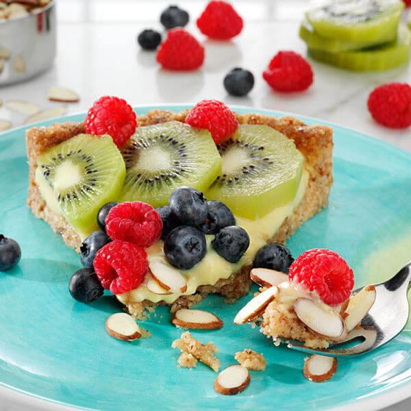 Mixed Fruit Almond Tart