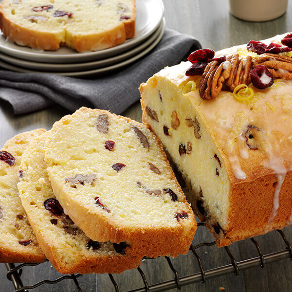 Fisher Nuts | Recipes | Pecan, Cranberry Pound Cake With ...