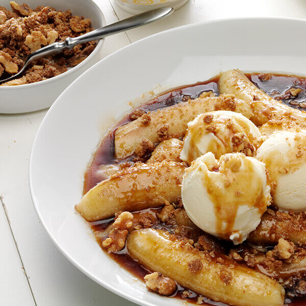 Walnut Bananas Foster