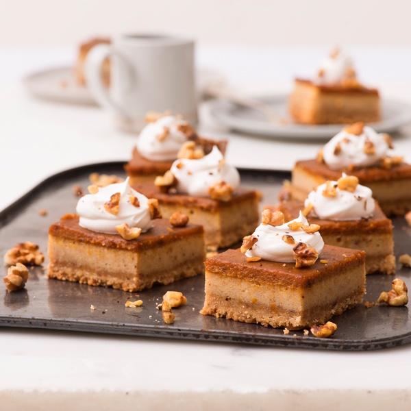 "Pumpkin Spice ""Latte"" Bars"