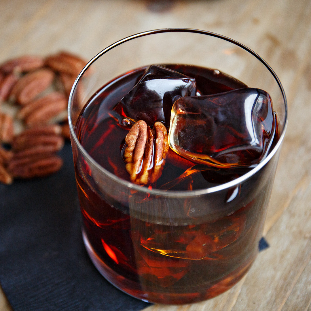 Pecan Bourbon Cocktail