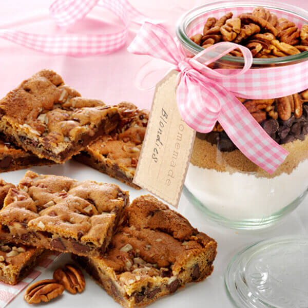 Fisher Nuts Recipe Blondies In A Jar