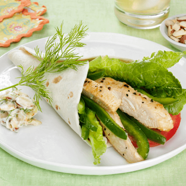 Chicken & Dill Wrap