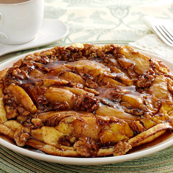 Cinnamon Apple Pancake