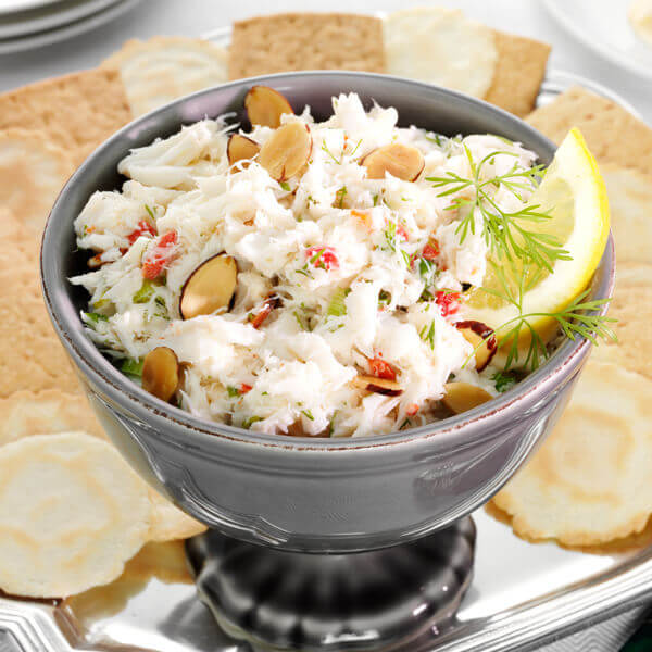 Crab Spread with Almonds