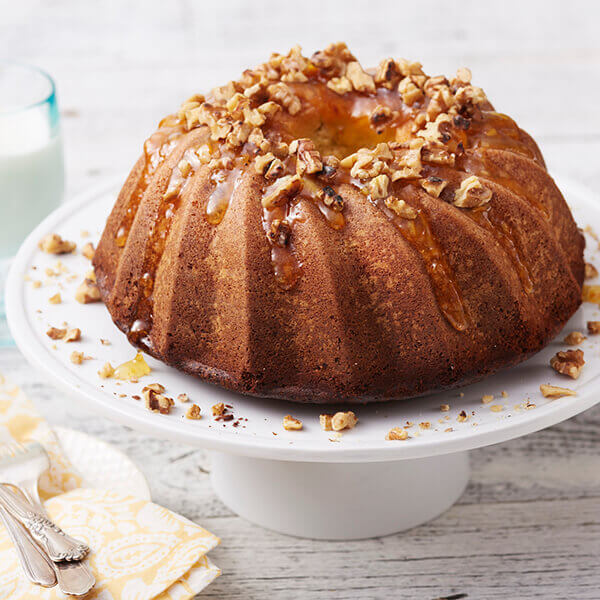 Citrus Walnut Bundt Cake