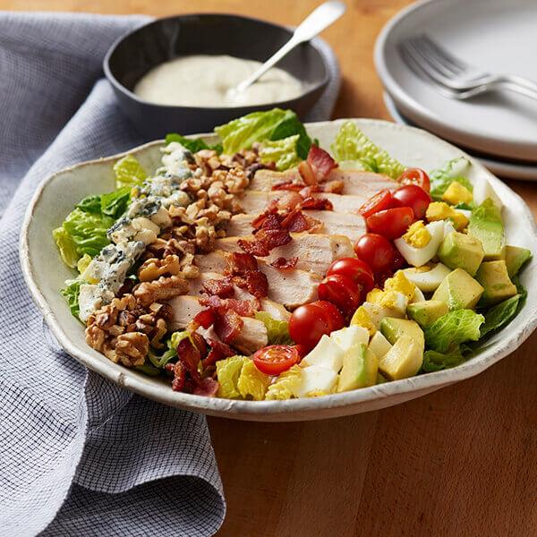Cobb Salad with Walnuts