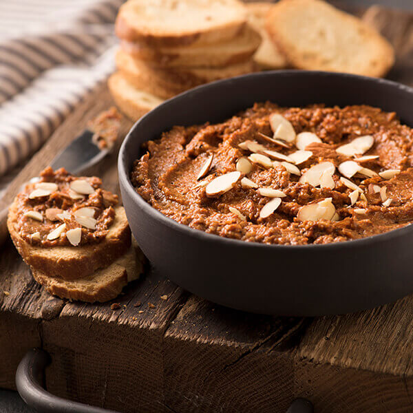 Roasted Tomato and Walnut Dip