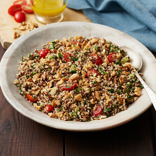 Tabbouleh Style Walnut and Quinoa Salad