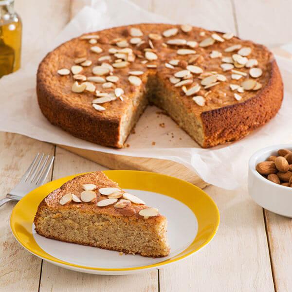 Gluten Free Honey-Cardamom Almond Cake