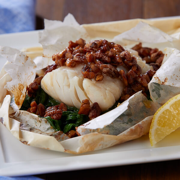 Honey Pecan Cod