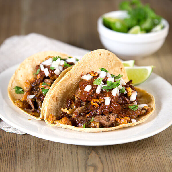 Carnitas & Walnut Mole Tacos