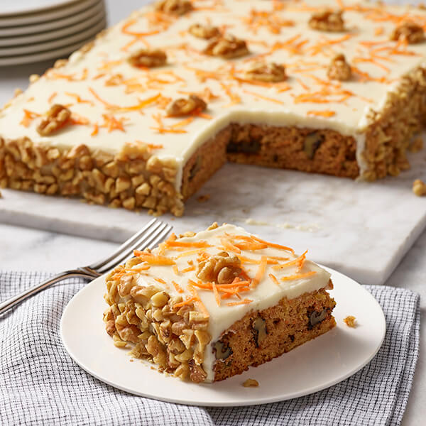 Parsnip Carrot Walnut Cake