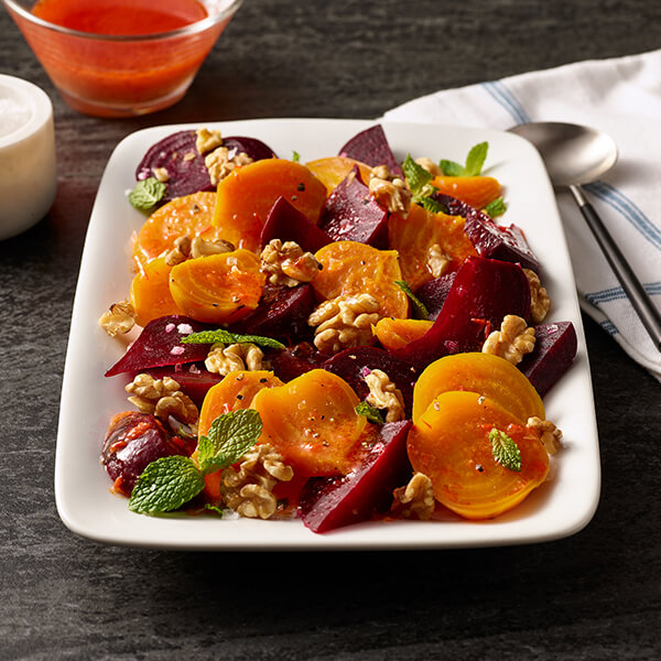 Roasted Beet and Walnut Salad