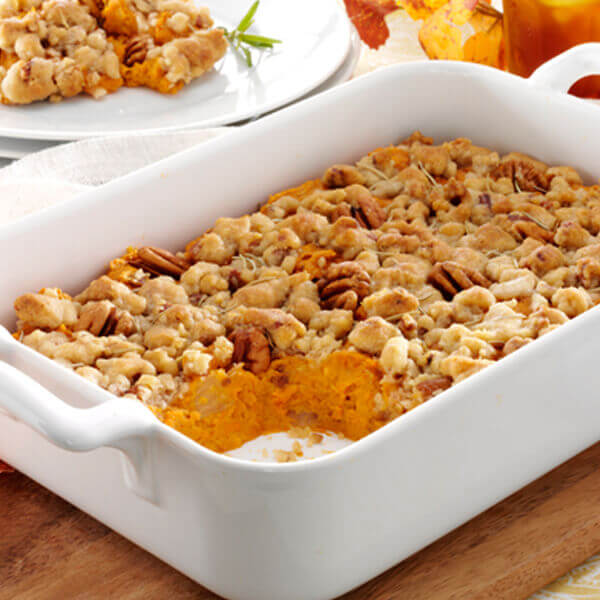 Rosemary and Sweet Potato Casserole
