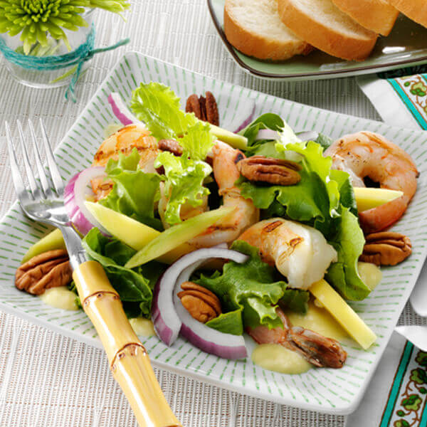 Shrimp Salad with Mango Vinaigrette