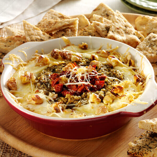 Sun Dried Tomato Layer Dip