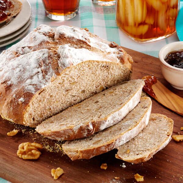 Walnut Whole Wheat Bread