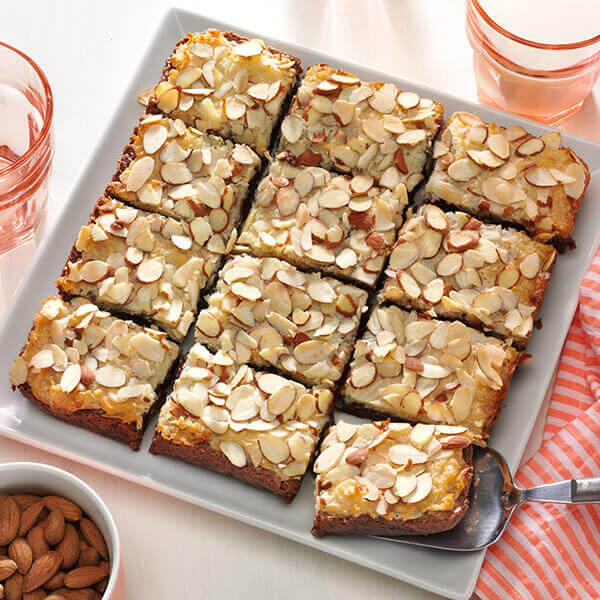 Coconut Almond Brownies