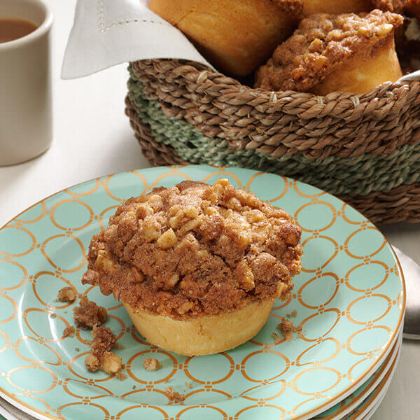 Streusel Pound Cake Muffins