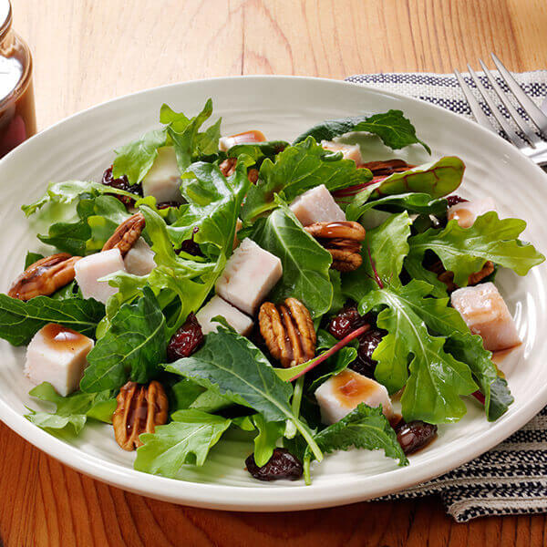 Turkey, Pecans, and Cherry Salad