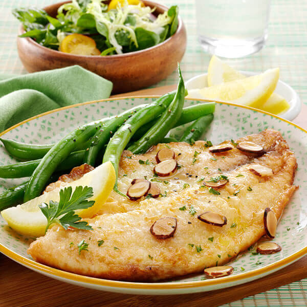 Almond & Lemon Tilapia