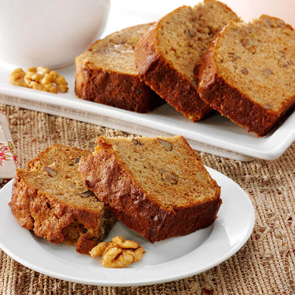 Apple Walnut Quick Bread