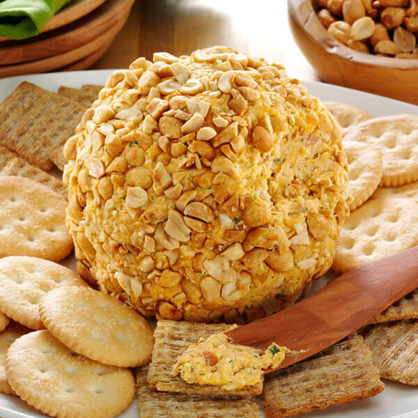 Bacon Peanut Cheese Ball