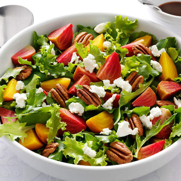 Beet Salad with Pecan Dressing