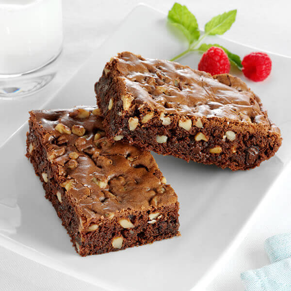 Walnut Chocolate Chip Brownies
