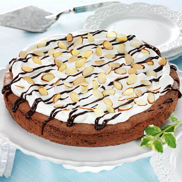 Decadent Chocolate Almond Torte