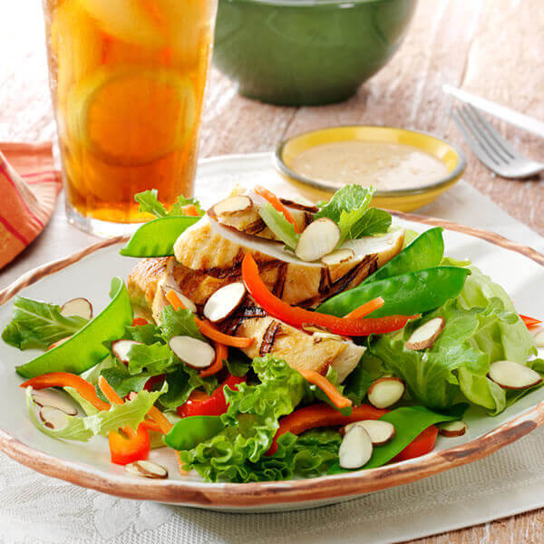Grilled Chicken Teriyaki Salad