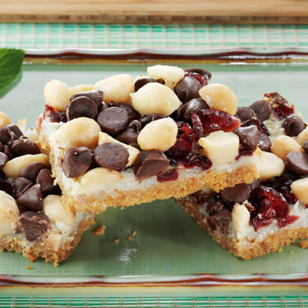 Macadamia Cranberry Bars