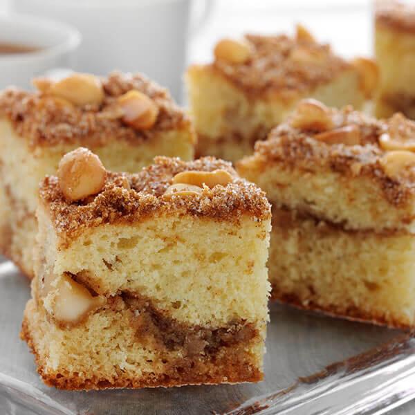 Macadamia Coffee Cake