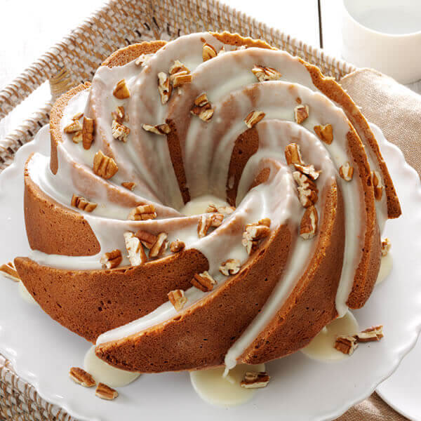 Pecan Orange Spice Bundt Cake
