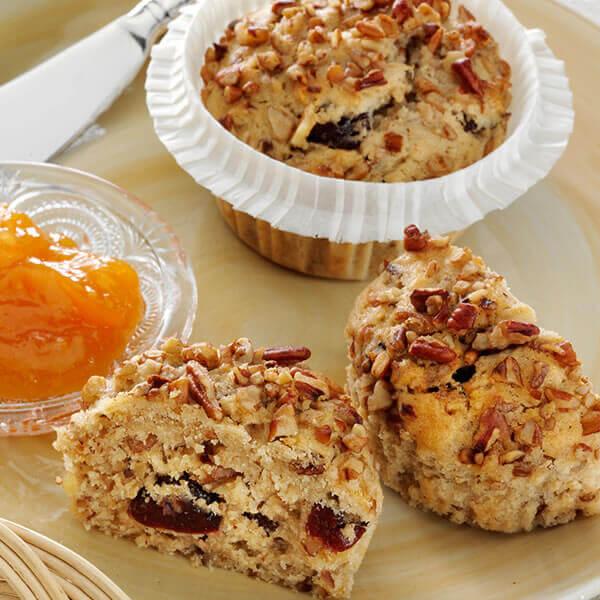 Rise & Shine Oatmeal Muffins
