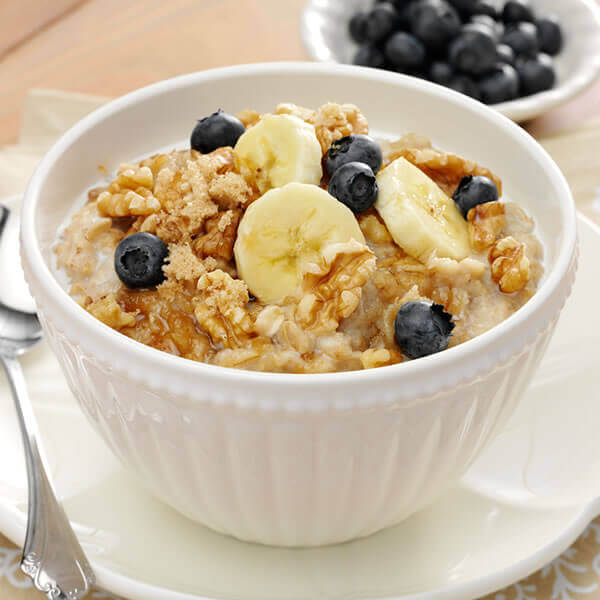 Simply Delicious Walnut Oatmeal