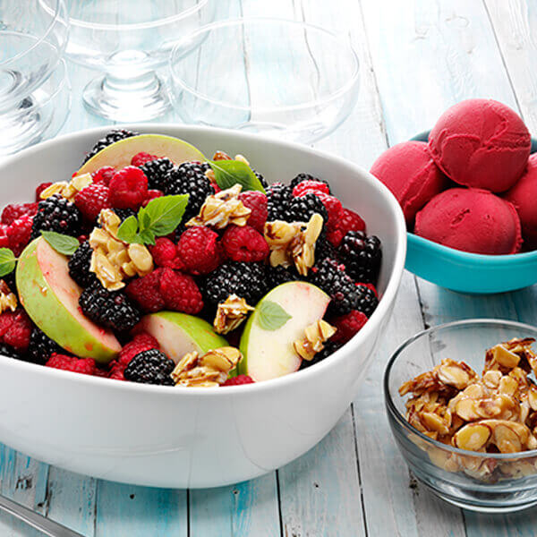 Toasted Almond Fruit Salad