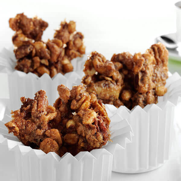Sweet Chipotle Mixed Nuts
