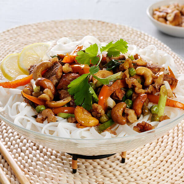 Tantalizing Thai Nutty Chicken