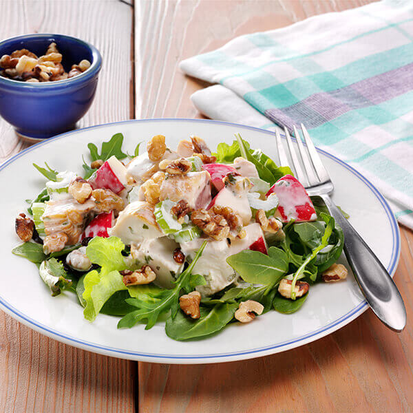 Walnut Waldorf Salad