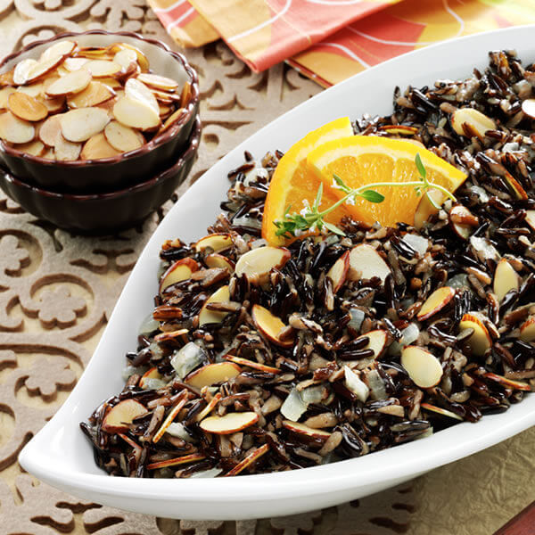 Wild Rice And Toasted Almond Pilaf