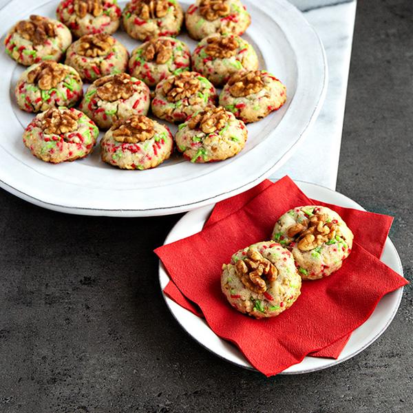 Walnut Butter Cookies